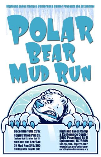 Polar Bear Mud Run