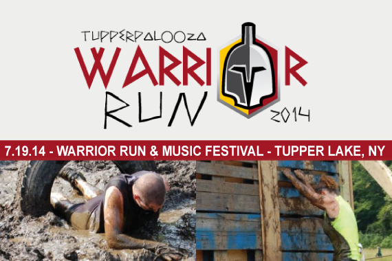 3rd Annual Tupperpalooza Warrior Run & Music Festival