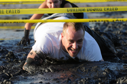 Mud Army Crawl