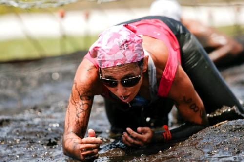 Test your limits by joining a mud run!