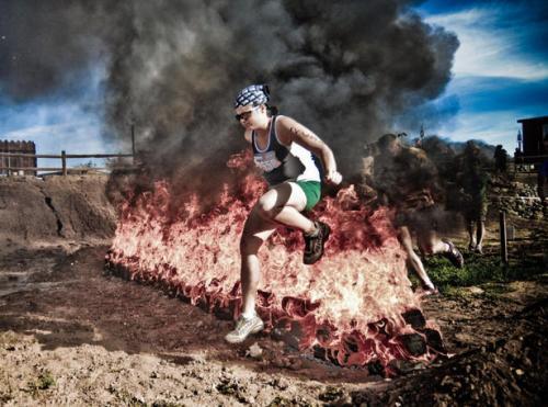 run in the mud